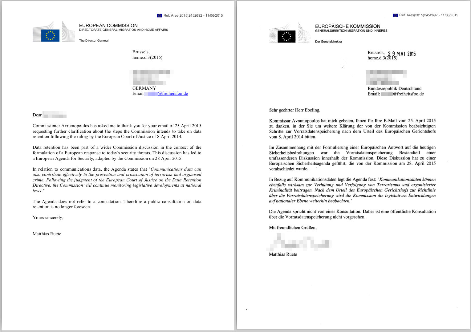 Briefe Richtig Formulieren : Freiheitsfoo wiki main  brief an avramopoulos