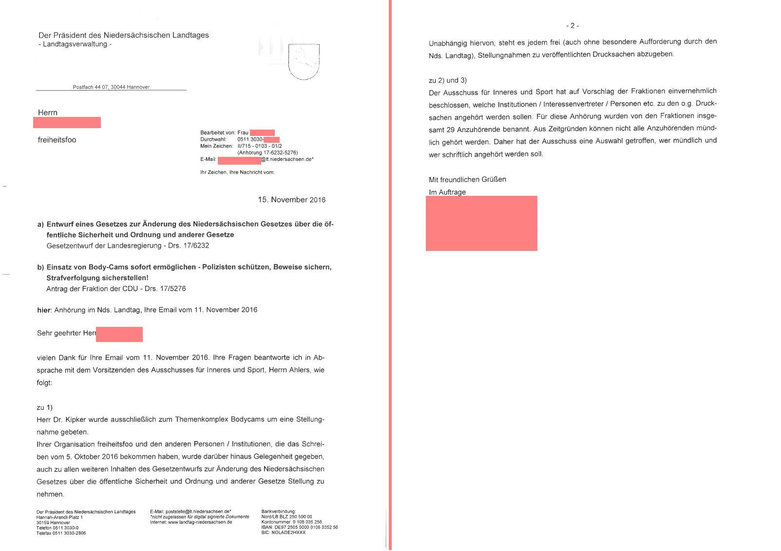 Freiheitsfoo Wiki Main Anhoerung Polizeigesetzreform Lt Nds